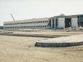 موقع كلية أبو ظبي للطلاب على شارع السعادة قيد الإنشاء
